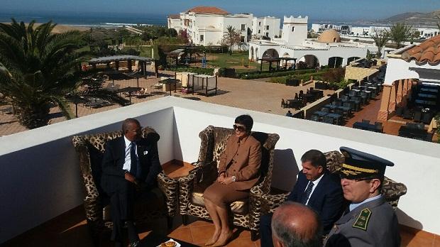 عاجل: سفير أمريكا يحل باشتوكة لمتابعة المناورات العسكرية مع المغرب