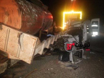 تيزنيت: حادث سير يودي بمصرع اربعة اشخاص