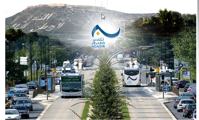 أكادير ونانت الفرنسية يوقعان اتفاقية حافلات الباص واي