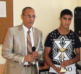 انزكان: التلميذ المهدي الزريدي يفوز بكأس العرب في الملاكمة