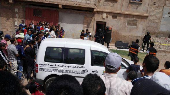 خطير بالفيديو : لحظة اعتقال دواعش القليعة بإنزكان