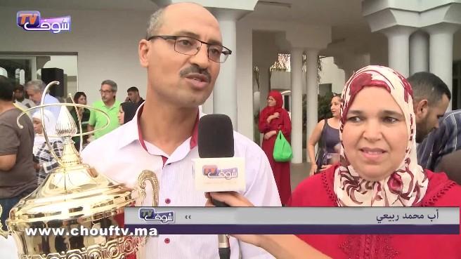 تصريح أب البطل المغربي الربيعي بعد تكريم ابنه و يعد المغاربة بمفاجأة سارة
