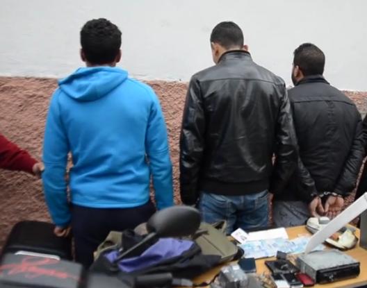 تارودانت: اعتقال عصابة روعت حي بيزمان