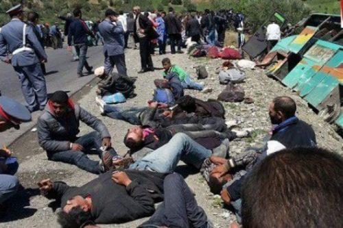 حرب الطرق مستمرة: 9 اشخاص يلقون حتفهم في طريق العودة من رحلة