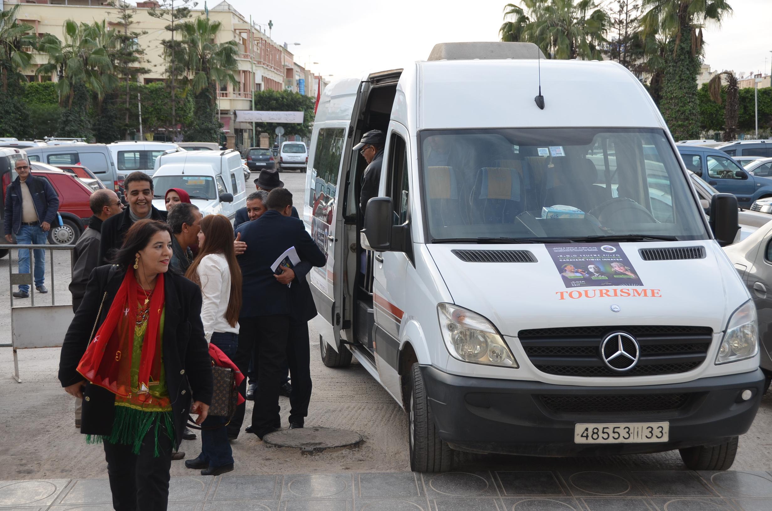 إنزكان: بالصور.. منظمة تماينوت تستقبل قافلة تويزي إيناير