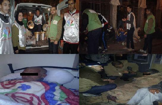 +صور:مندوبية التعاون الوطني تحمل مشعل حملة شتاء بإنزكان ايت ملول
