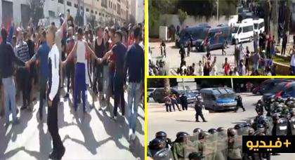 الزفزافي ورفاقه المسجونين  بالدار البيضاء والحسيمة يدخلون في إضراب عن الطعام