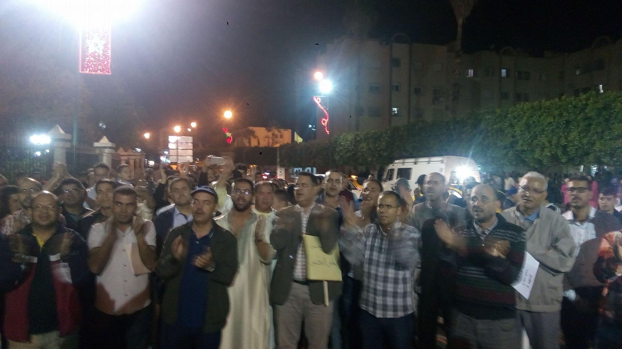 وزان والحسيمة تطالبان بجرعات من التنمية
