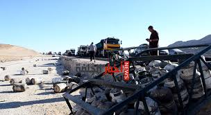 أكادير: اصطدام بين شاحنة محملة بالبوطا وأخرى بالوقود