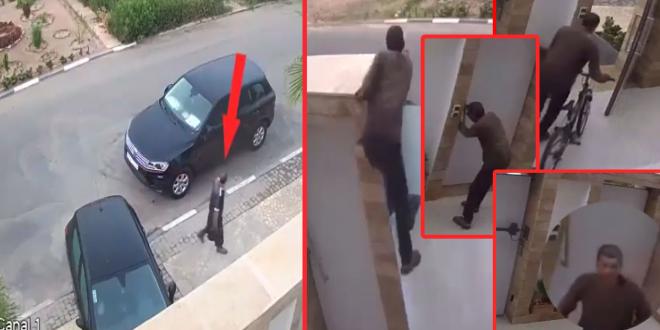 أكادير بالفيديو: الشفار مول الفوقية شداتو الكاميرا سارق