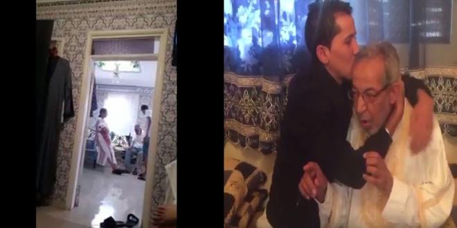 """من وصفه مغاربة بالمسخوط يعود ليطلب الصفح من أبيه """" فيديو"""""""