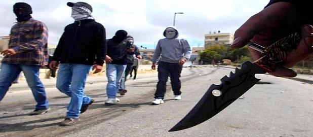عصابة النينجا تهاجم زوار أكادير أوفلا