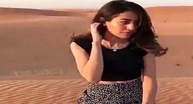 فيديو: تفاعلات سعودية ظهرت بثياب قصيرة بموقع أثري