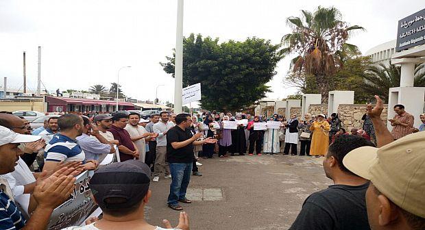 أكادير: منع مسيرة للأساتذة باتجاه مقر الولاية