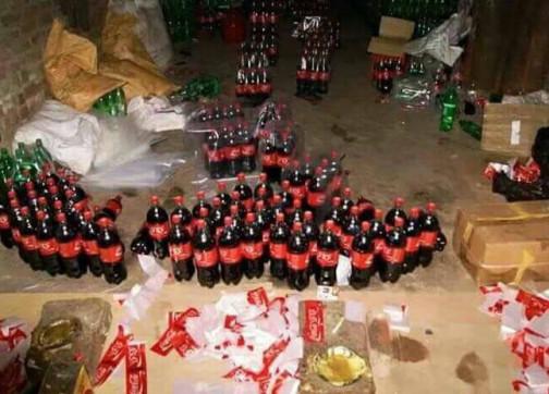 """هذه حقيقة صور """"كوكا كولا الخطيرة"""" المروجة"""